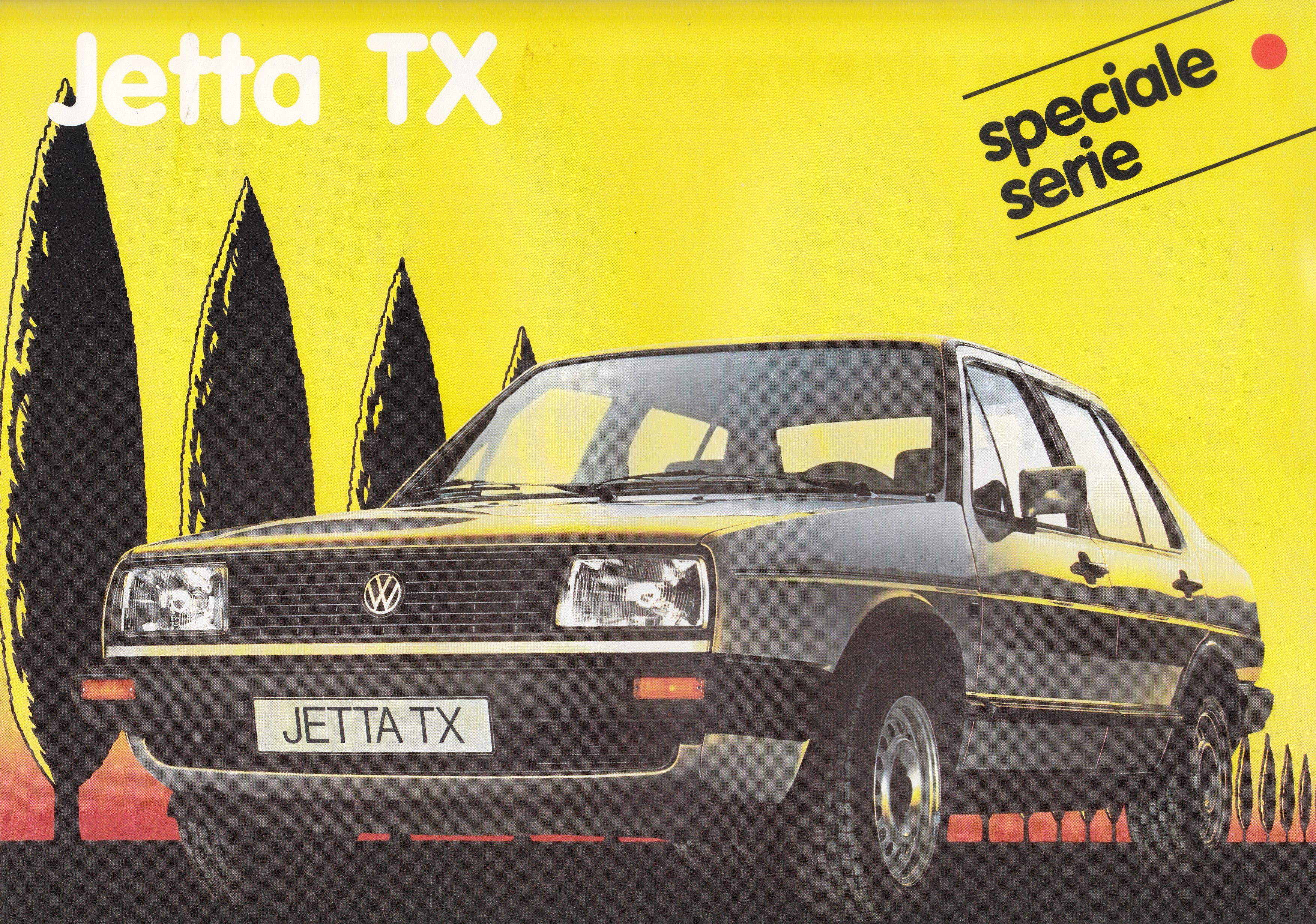 Volkswagen Jetta Tx Leaflet Belgium Jan 1986 Volkswagen Jetta Volkswagen Classic Cars