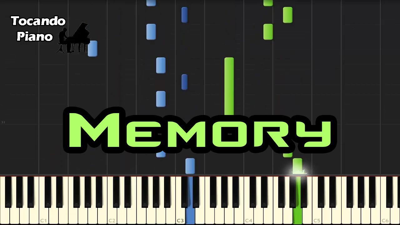 Memory Memories Piano Pdf Notas Musicales Musical Cats Musicales