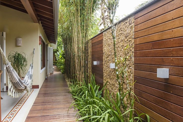 imagem_05_br Home Decor Pinterest Casas, Corredores y Jardín - decoracion con madera en paredes