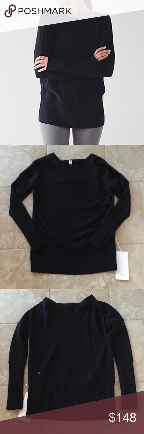Lululemon Sattva Sweater NWT | Lululemon, Lululemon athletica and ...