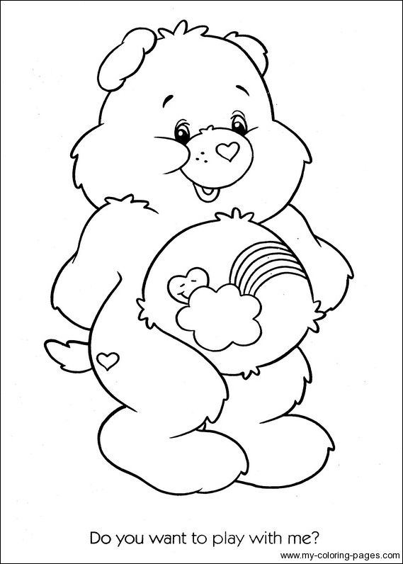 Care Bears Coloring 108