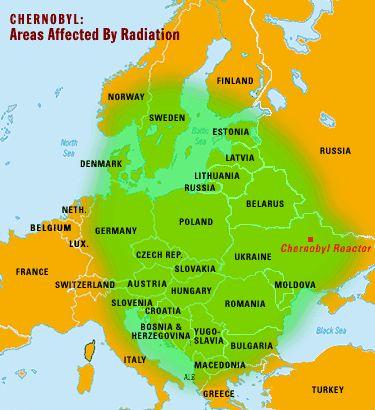 Another Chernobyl map | chernbyl | Pinterest | History