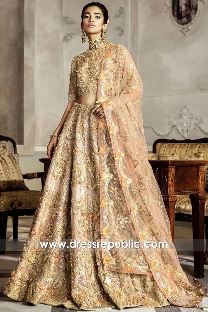 Pakistani Designer Lehenga 2020 Collection Buy Online in