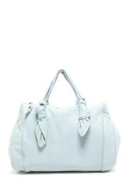 Baby Blue Handbag.