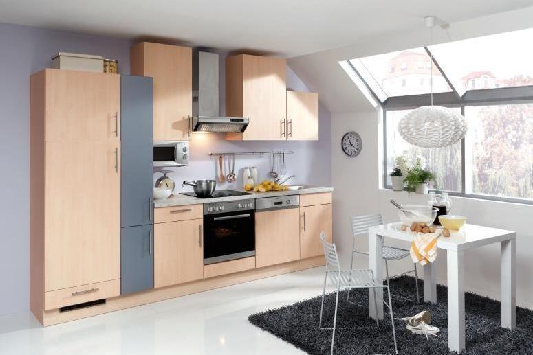 Singleküche holzoptik · kleine küchenzeilewohnkultur ideen