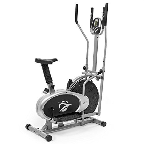 Elliptical Exercise Bike Fitness Cross Trainer Home Workout Gym