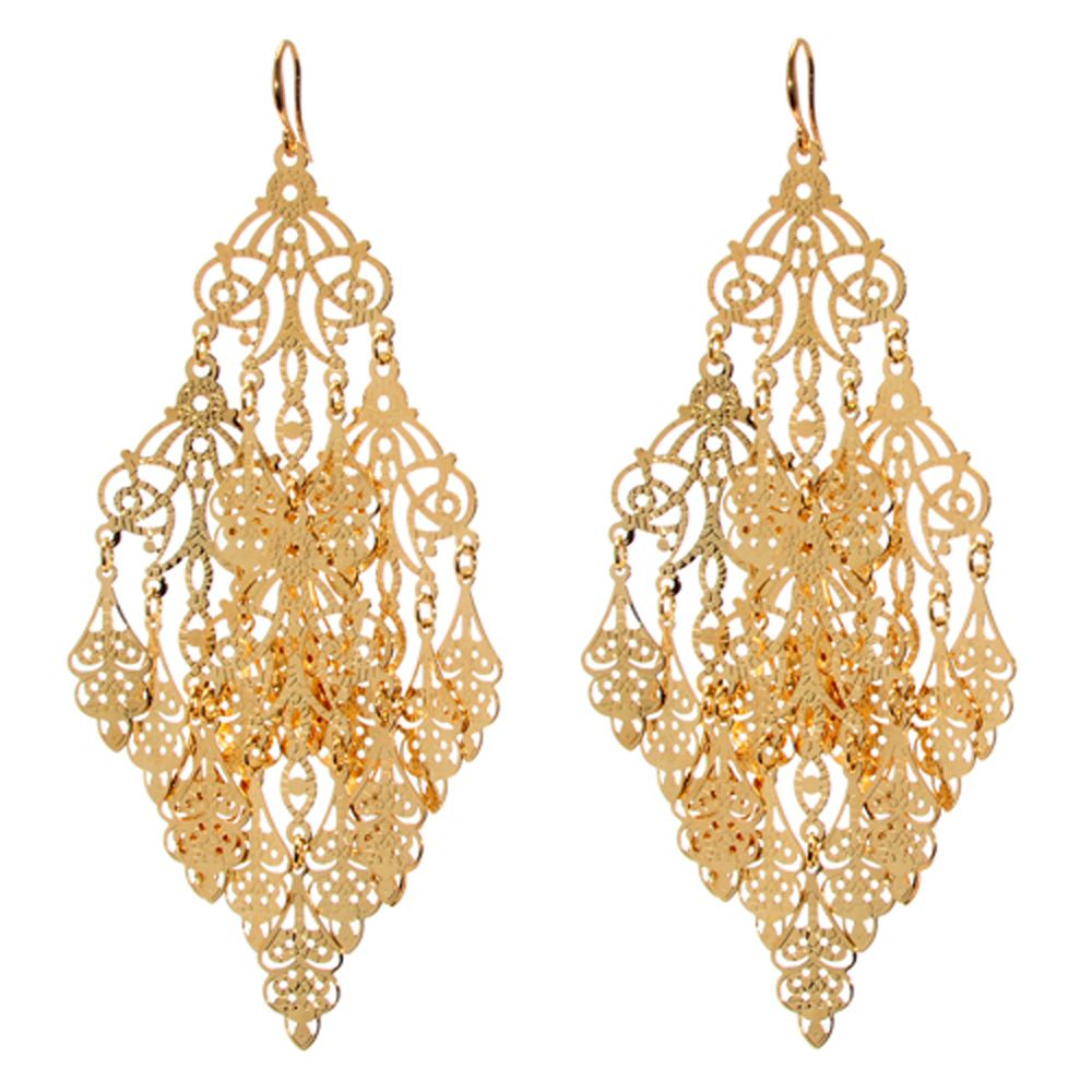 Indian chandelier earrings spargz festive br gold plated pea indian gabrielle earring indian earrings amrita singh and fashion jewellery mozeypictures Image collections