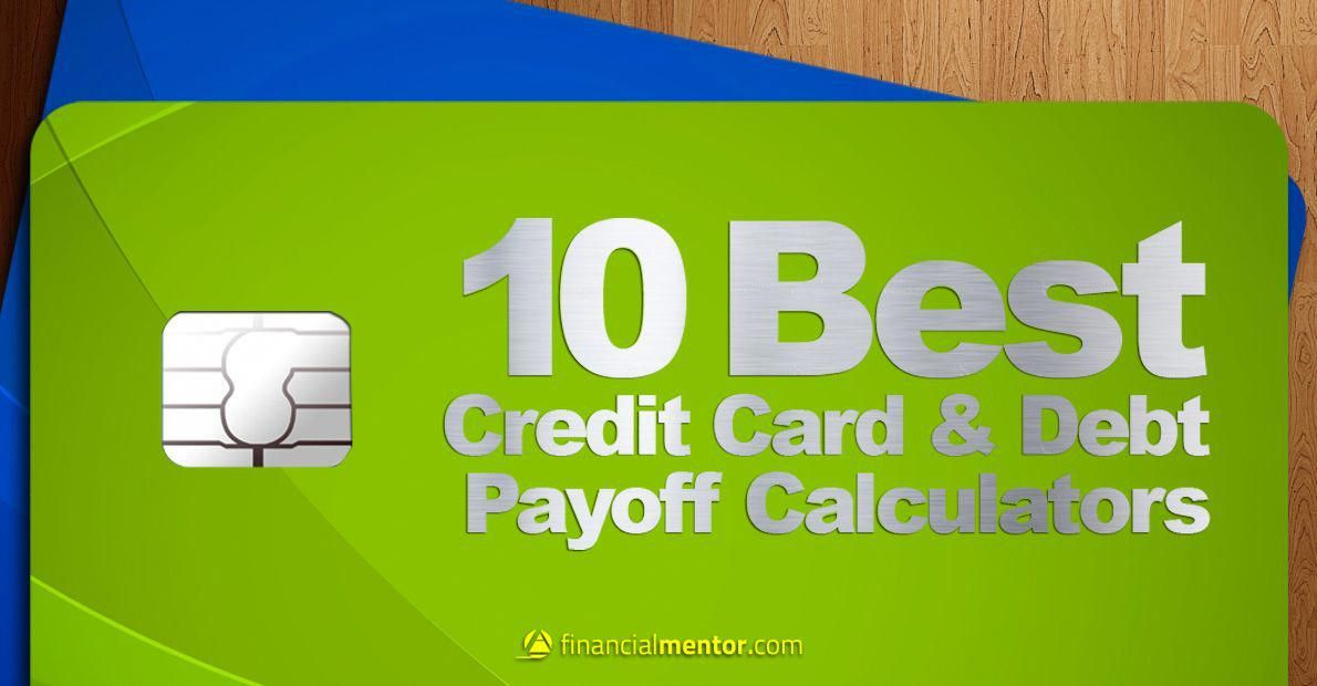 Calculators to help you with #credit cards and #debt payoff