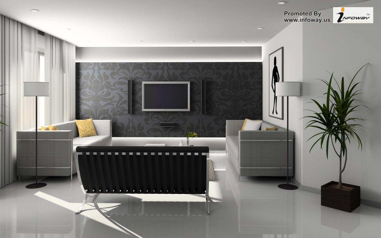 Modern home interior colors home interior design ideas living room  modern  simple elegant