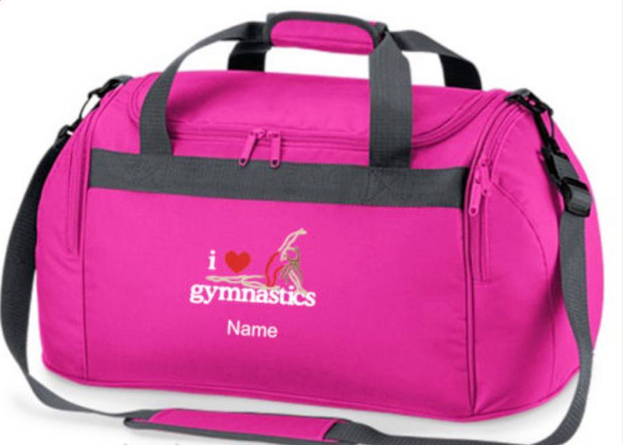 Personalised Gymnastics Bag Holdall Fantastic Gymnastic Uk