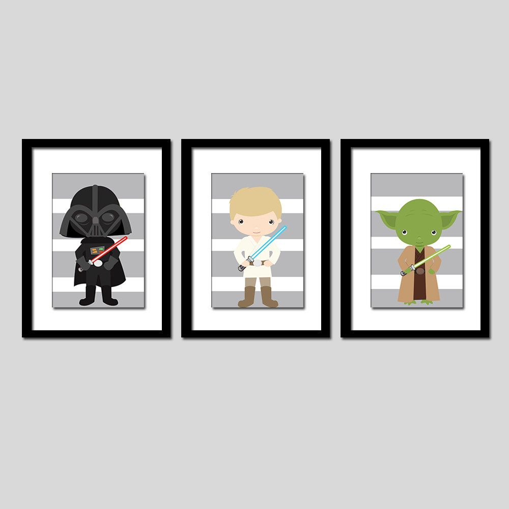 Star wars wall art or nursery art x prints shipped to your