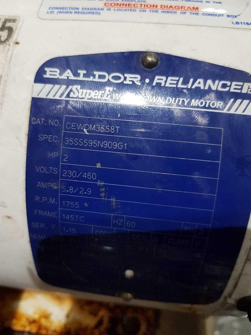 Baldor L T Motor Wiring Diagram on