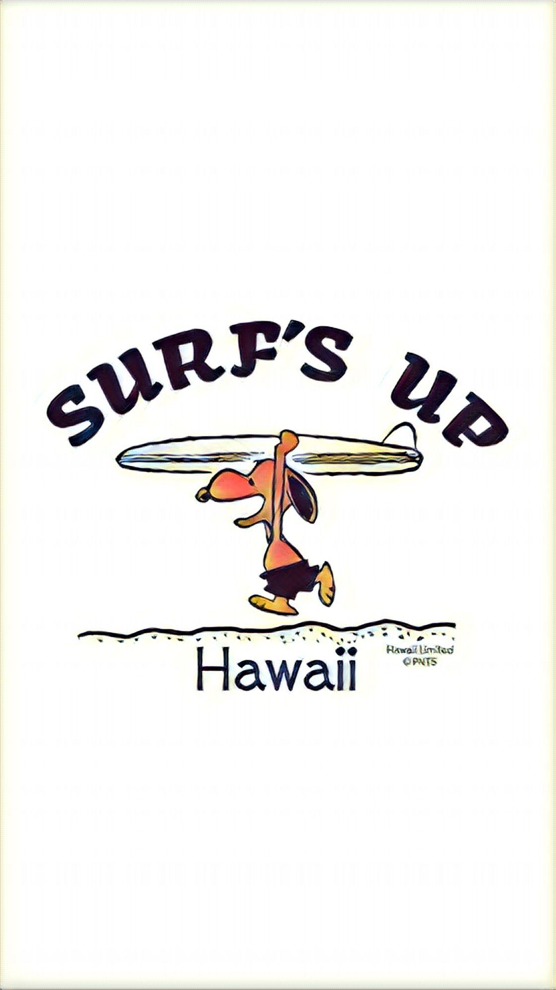Snoopy Hawaii スヌーピー サーフィン 日焼けスヌーピー スヌーピー