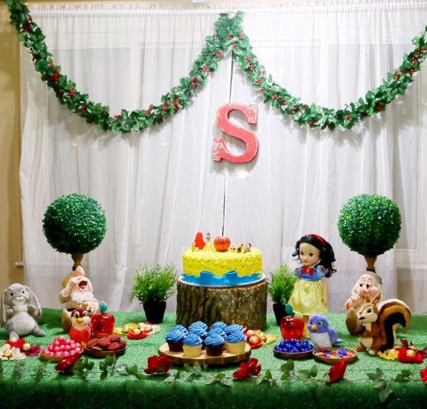 DIY : Snow White Birthday Party Ideas | Snow white ...