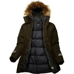 Helly Hansen Mens Longyear Ii Parka Brown L