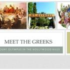 Meet the Greeks is a Power Point that introduces students to the Who's Who of Mount Olympus by comparing each God or Goddess to famous Hollywood ac...