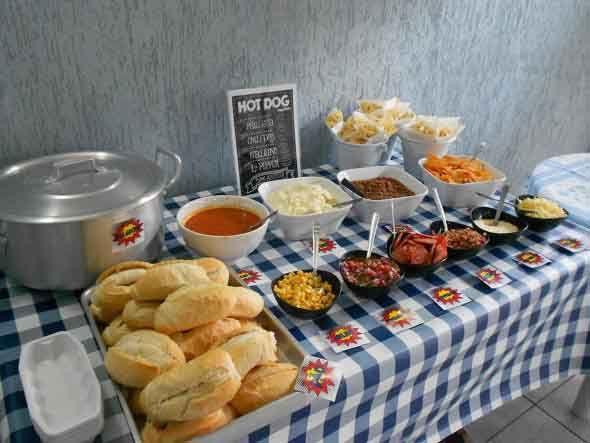 Ideias para servir comida em festa infantil 008 for Servir comida