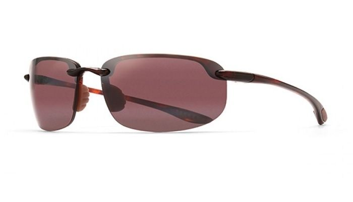 d06a519334f Maui Jim Hookipa 407 10 Tortoise Frame with Polarized Maui Rose Lens  Sunglasses