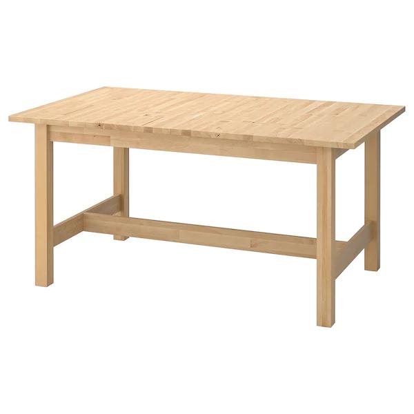 norden table extensible bouleau