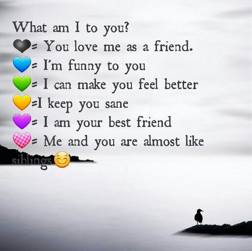 What am I to you? A special quiz to quiz your friends