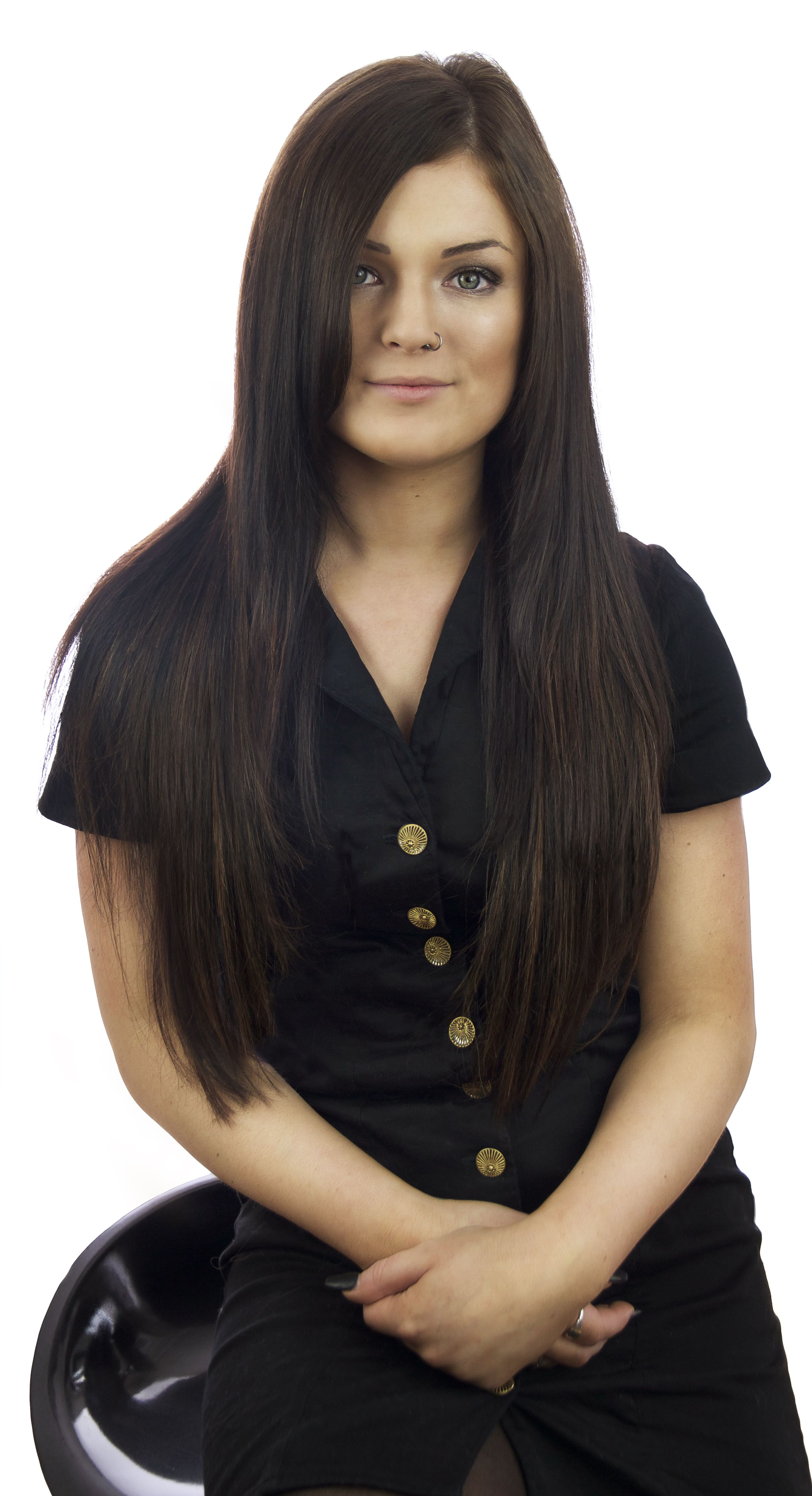 Gemma one of our Manchester salon designers | Hair loss ...