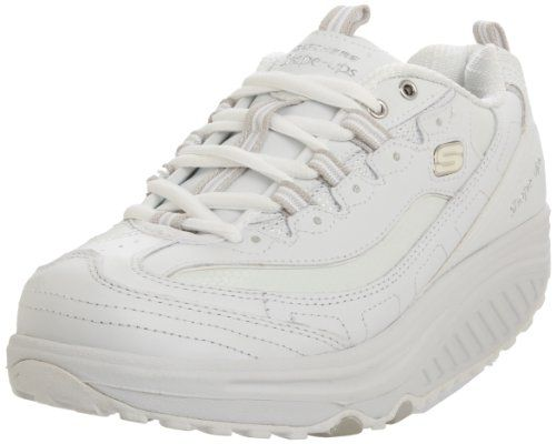 Skechers Womens Shape Ups Metabolize Fitness Work Out Sneakerwhitesilver8 M Us You Can Find More Details By Visit Skechers Shape Ups Shape Up Shoes Skechers
