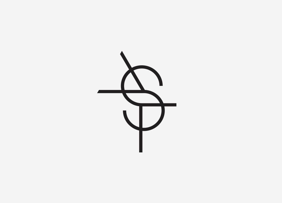Monogram designed by Studio Constantine for Andrew Schweitzer Foto