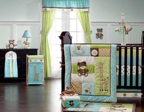 Turquoise Nursery Baby Nurseries Aqua Nursery Baby Room Crib