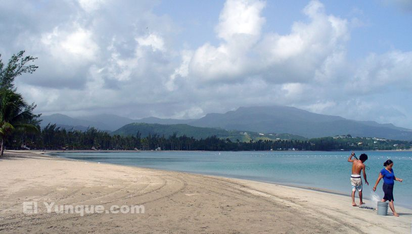 Balneario Luquillo Has Always Been Puerto Rico S Most Famous Beach This Is An Easy Day Trip From San Juan Or You Can Combine It With A To The El