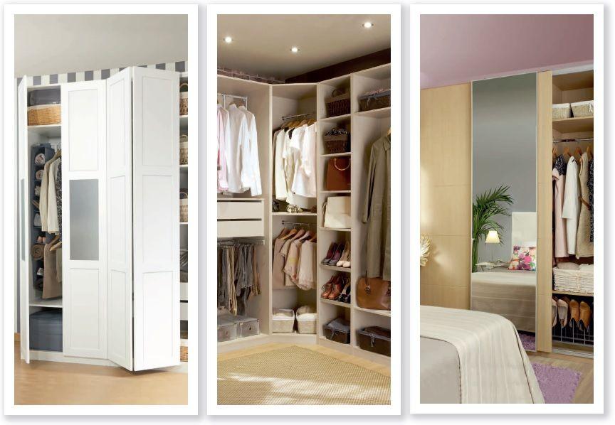 Interiores de armarios leroy merlin - Distribuir armario empotrado ...