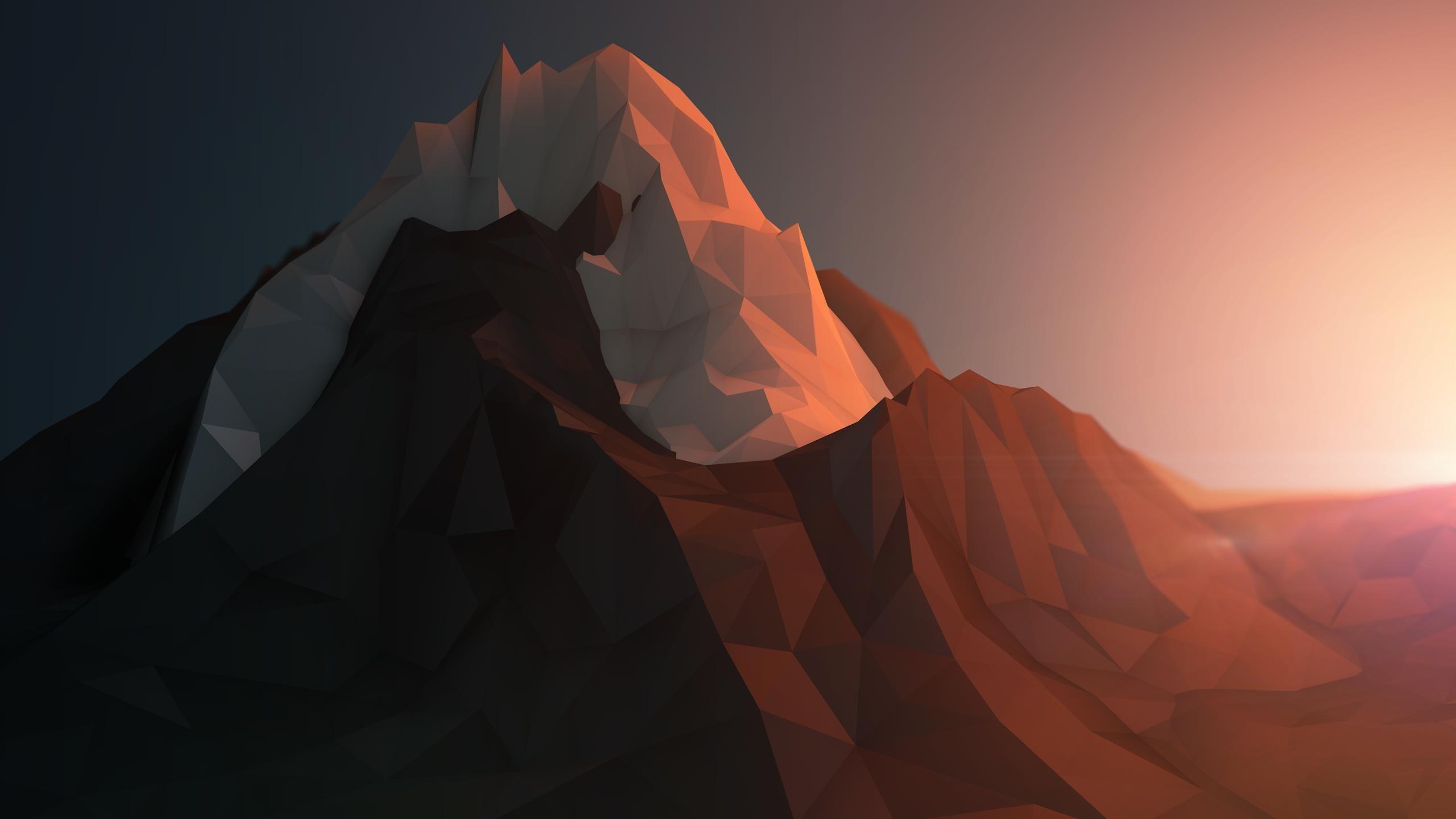 Low Poly Art Wallpapers Polygon Art Cool Wallpaper Mountain