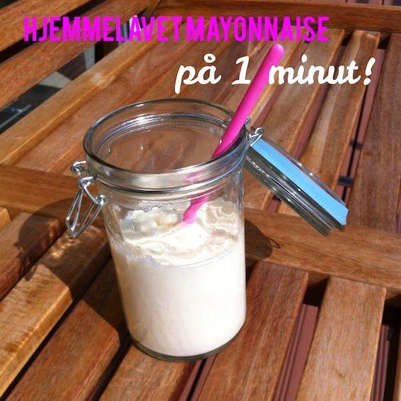 Hjemmelavet mayonnaise - på 1 minut!
