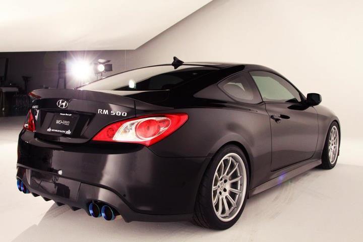 Rhys Millen RM500 Hyundai Genesis Coupe 5 litre V8 - HRE 793RS ...