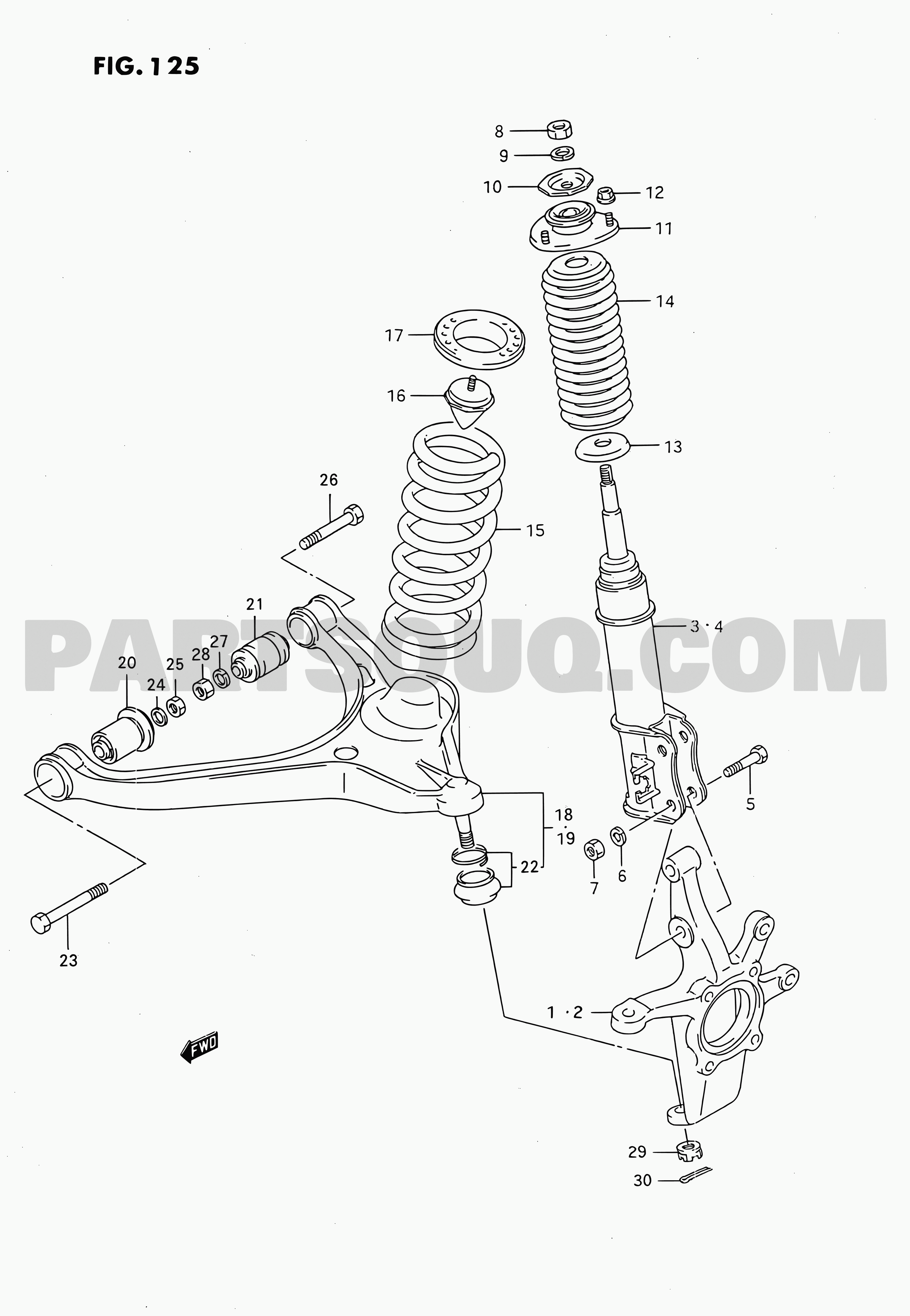 Suzuki Grand Vitara Spare Parts Catalogue