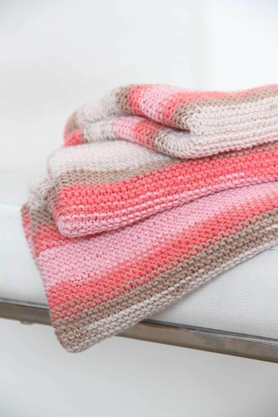 Ručně pletená deka pro miminko   Hand knitted baby blanket 6a5d686404