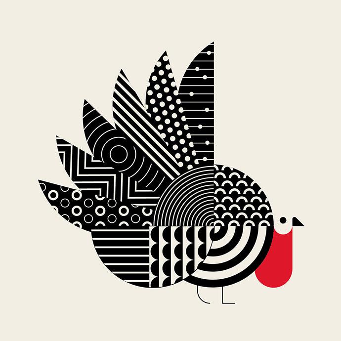 23 Mind-Blowing Minimal Illustrations For Inspiration – Bashooka