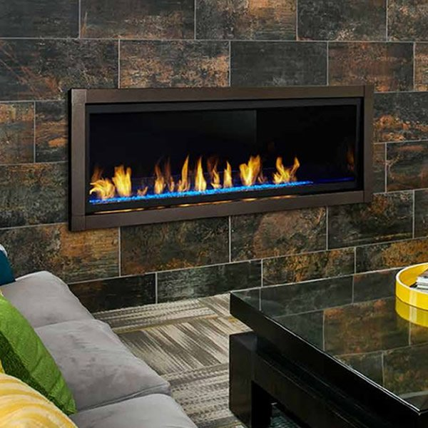 Monessen Artisan Ventless Fireplace 60 Linear Fireplace