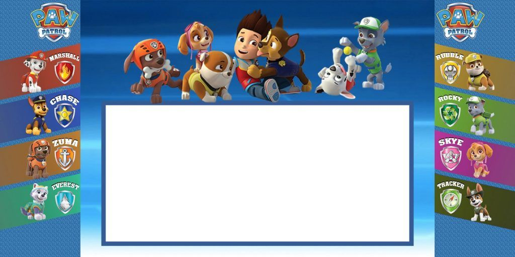 Custom Paw Patrol Invitation Card Coolest Invitation Templates - Paw patrol invitation template