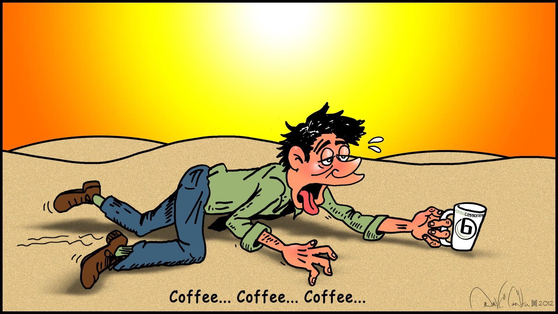 My kingdom for an iced coffee!