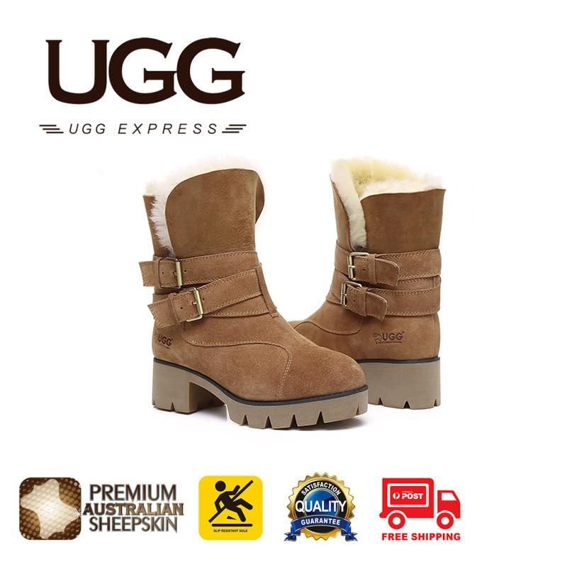 19b7c0e294d5 UGG Boots Melody - Ladies Fashion Strap Buckle