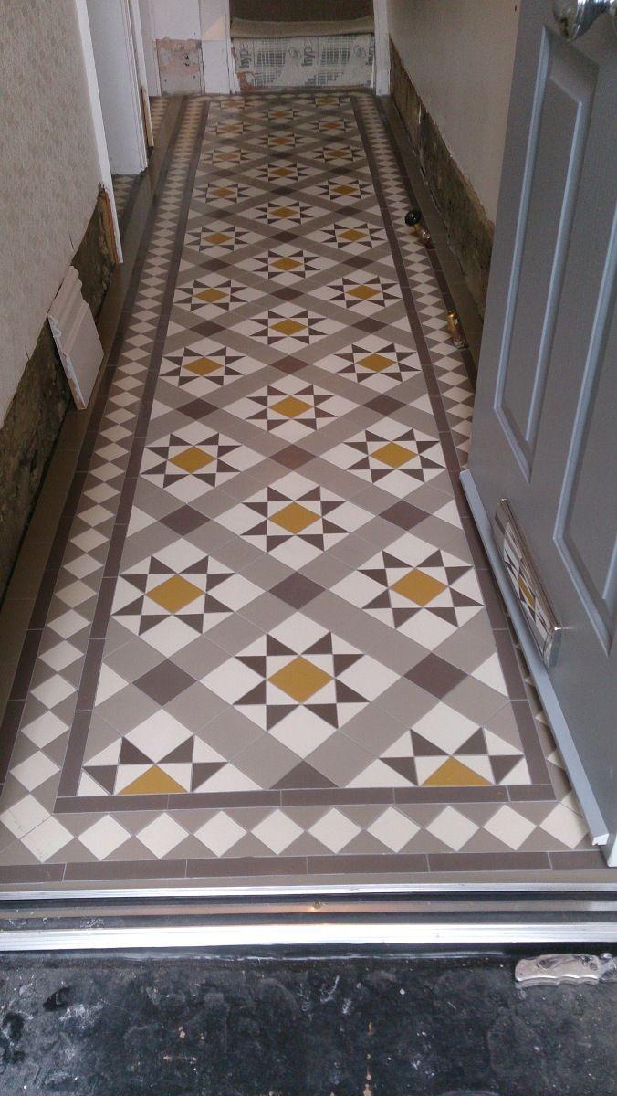 Victorian Tiles In Hallway Carron Pattern Victorian