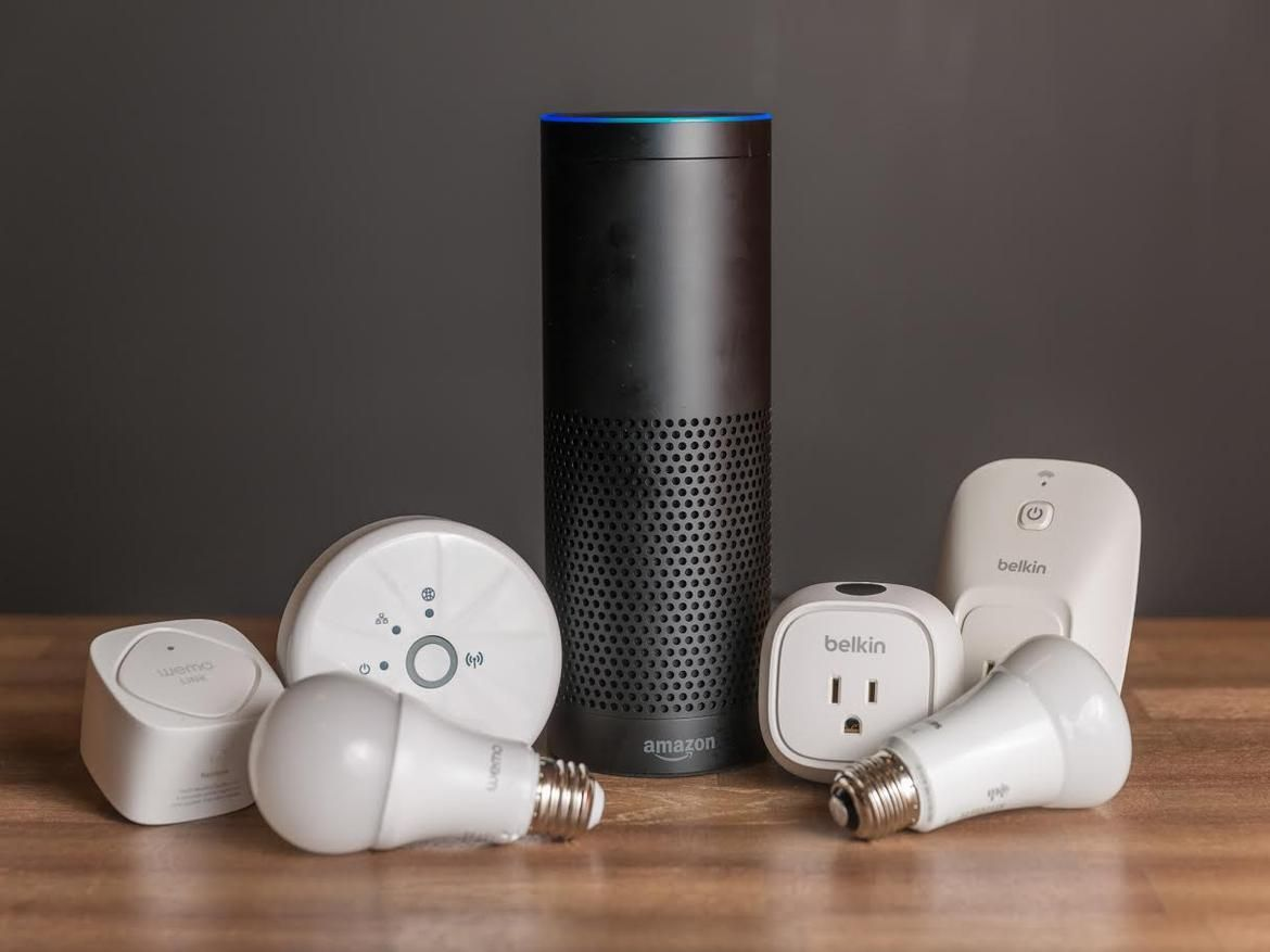 Here S What Works With The Amazon Echo Diy Home Security Security Cameras For Home Smart Home