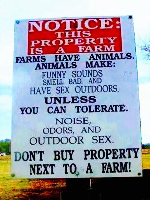 warning this is a farm animal warning signs pinterest