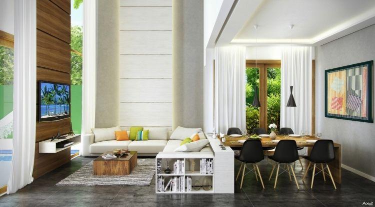 Beispiele zum Wohnzimmer einrichten \u2013 30 moderne Ideen Wohnzimmer
