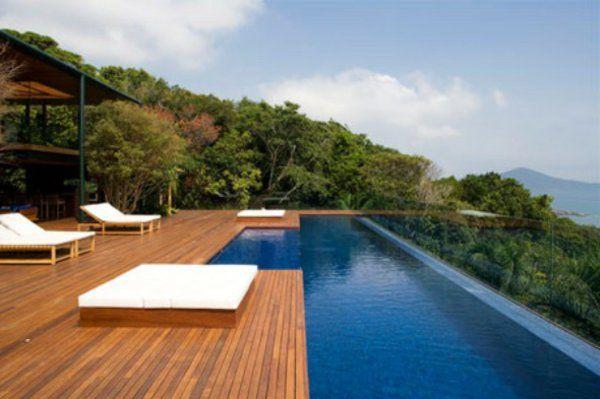 Terrasse en bois ou composite - idées merveilleuses pour l\u0027extérieur - Realisation D Une Terrasse En Beton