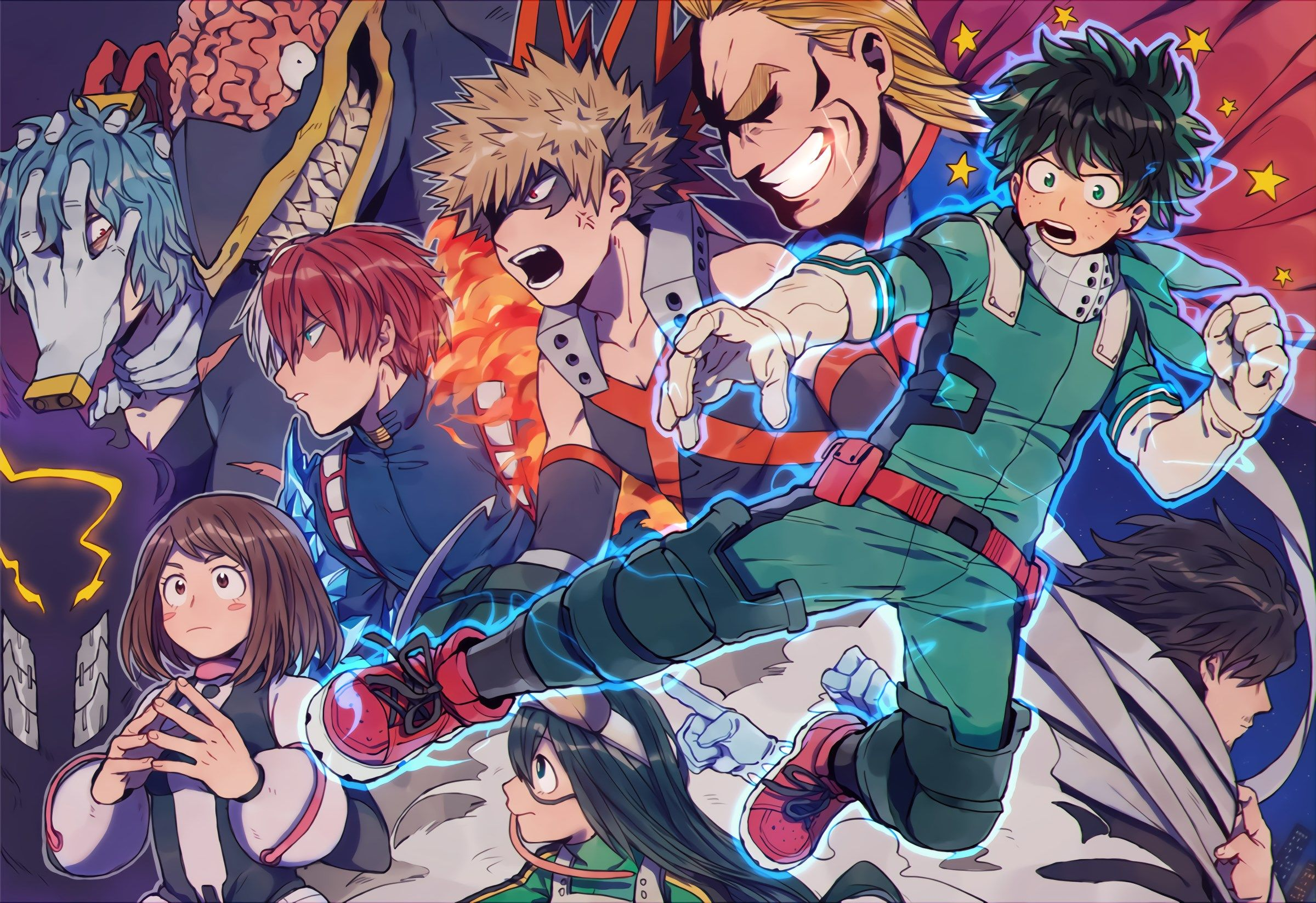 Boku No Hero Academia 1080p High Quality 2400x1648 Boku No Hero Academia Hero Wallpaper My Hero
