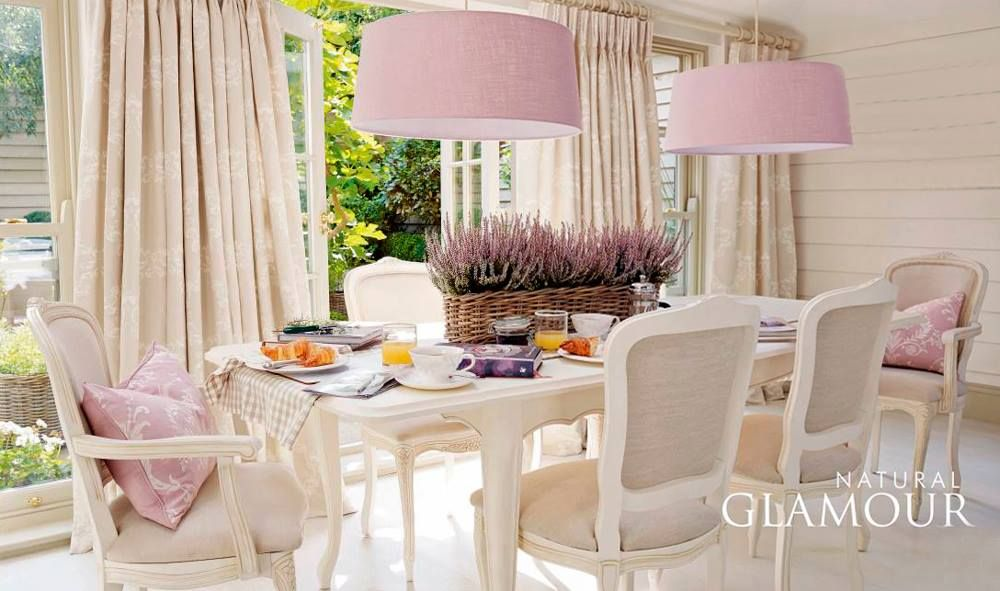 Interior Guide Natural Glamour Collection by Laura Ashley Shabby