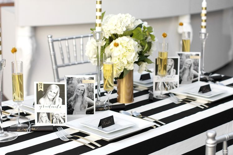 Sparkling Senior Graduation Party With Shutterfly Black