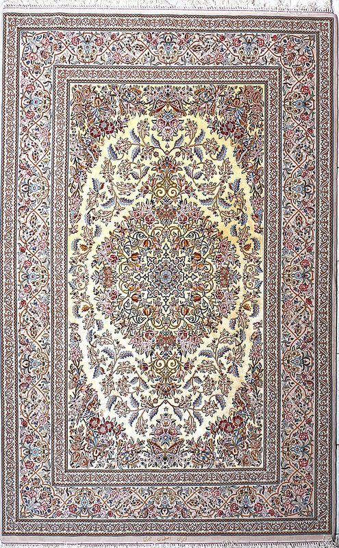 Isfahan Abrisham Silk Persian Rug In 2019 Carpets Amp Rugs