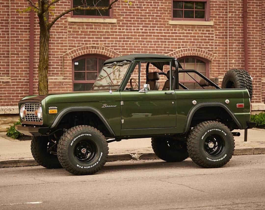 Pin By Jake Stache On Jeep Shit Ford Bronco Classic Ford